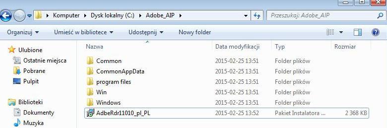 Adobe Reader XI AIP
