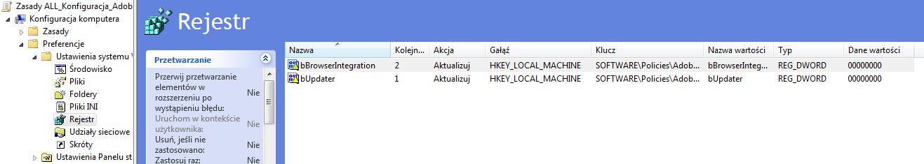 Adobe Reader XI disable autoupdate